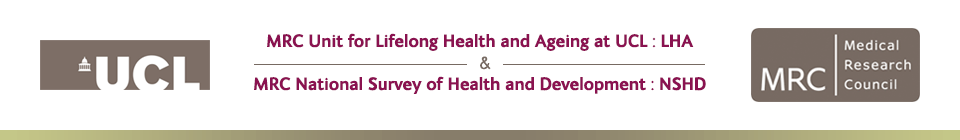 MRC Unit for Lifelong Health and Ageing & MRC National Survey of Health and Development